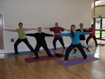 Sheerwater Yoga Pilates Class