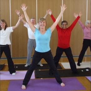 yoga pilates class